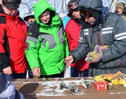 Кижи встретил участников соревнований по подлёдному лову